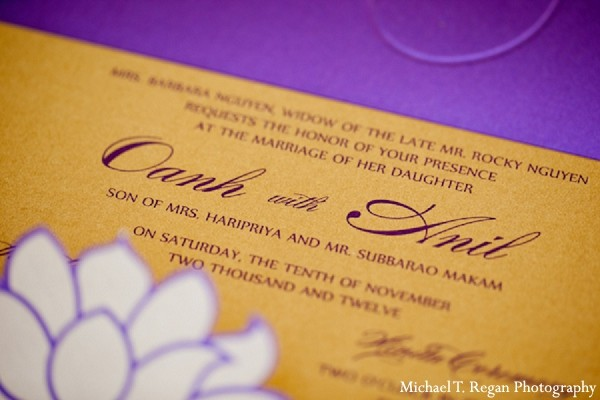 Reception in Corona Del Mar, CA Indian Fusion Wedding by Michael T Regan Photography