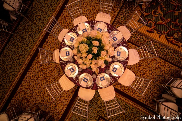 Reception in Boston, MA Indian Wedding by Symbol Photography