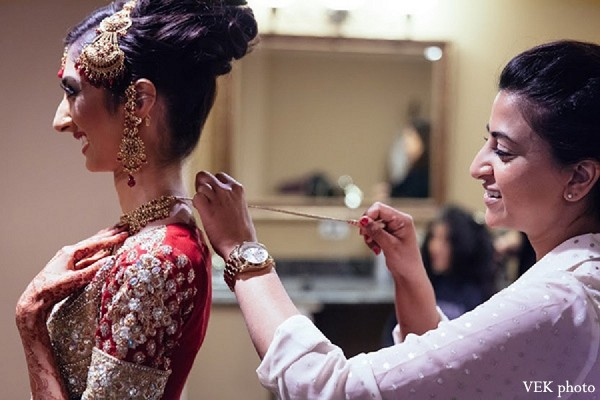 Bridal Jewelry in Chicago, IL Pakistani Wedding by VEK photo