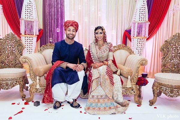 Chicago il pakistani wedding by vek photo maharani weddings for Pakistani wedding traditions