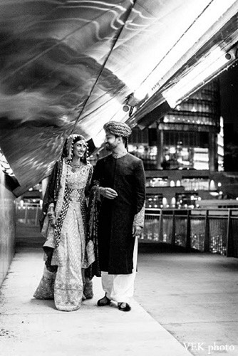 Portraits in Chicago, IL Pakistani Wedding by VEK photo