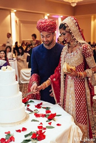 Reception in Chicago, IL Pakistani Wedding by VEK photo