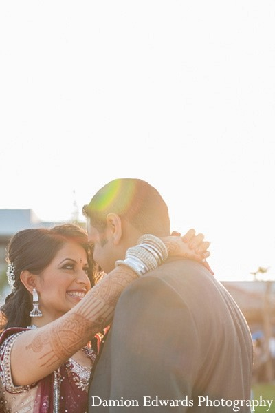 Portraits in Long Branch, NJ Indian Wedding by Damion Edwards Photography