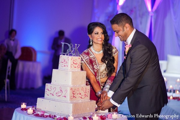 Reception in Long Branch, NJ Indian Wedding by Damion Edwards Photography