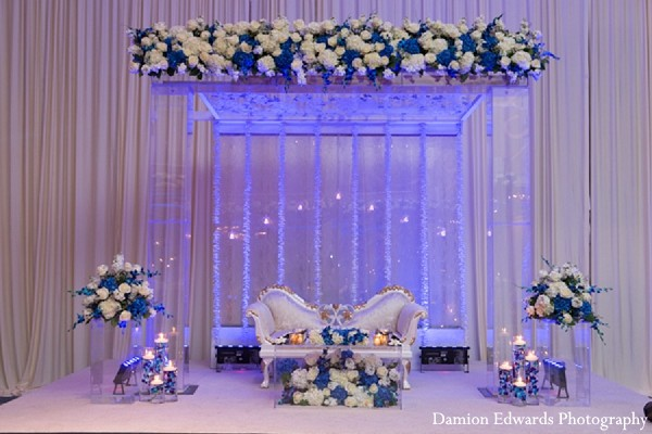 Reception in Somerset, NJ Indian Wedding by Damion Edwards Photography