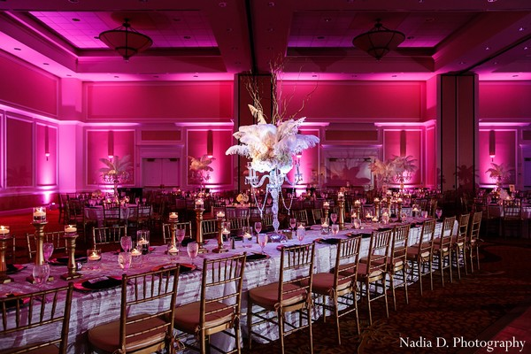Reception in Spartanburg, SC Indian Wedding by Nadia D. Photography