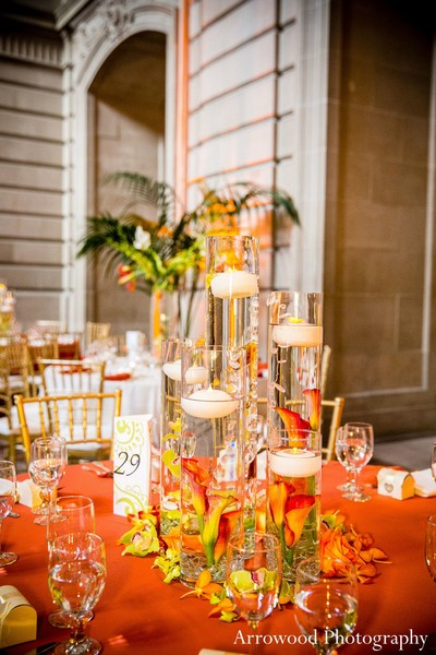 Reception in San Francisco, CA Indian Wedding by Arrowood Photography