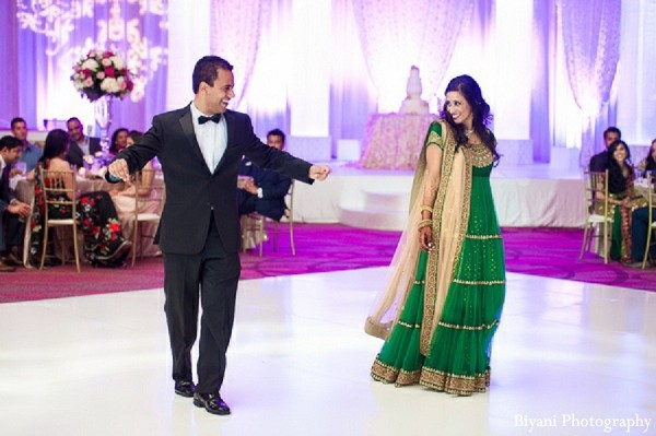 Reception in Dallas, Texas Indian Wedding by Biyani Photography
