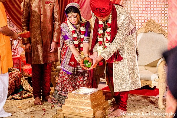 Ceremony in Edison, NJ Indian Wedding by Mohaimen Kazi Photography
