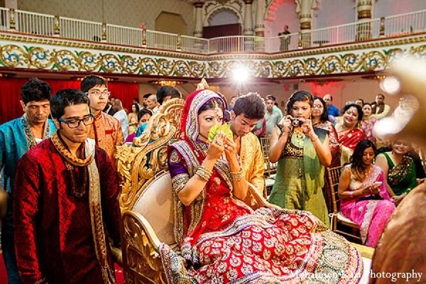 Reception Ceremony In Hindi: Edison, NJ Indian Wedding By Mohaimen Kazi Photography