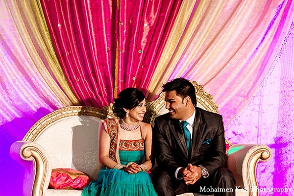 Reception in Edison, NJ Indian Wedding by Mohaimen Kazi Photography