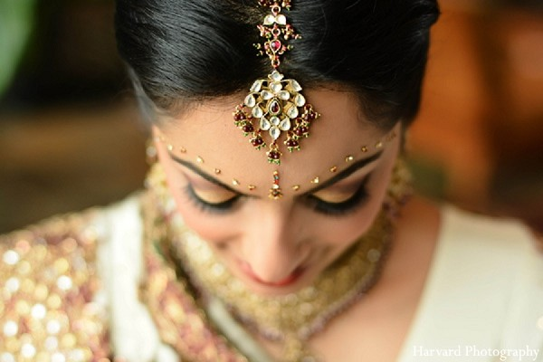 Bridal Jewelry in Itasca, IL Indian Wedding by Harvard Photography