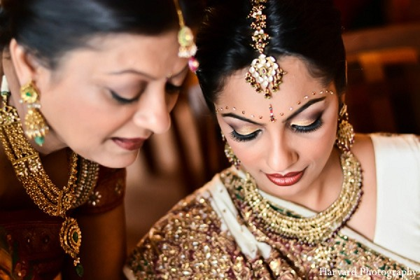 Hair & Makeup in Itasca, IL Indian Wedding by Harvard Photography