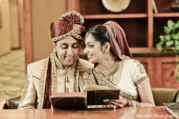 Portraits in Itasca, IL Indian Wedding by Harvard Photography