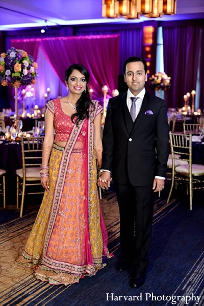 Reception in Itasca, IL Indian Wedding by Harvard Photography
