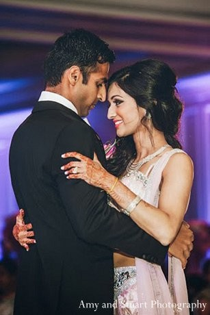 Reception in Laguna Niguel, CA Indian Wedding by Amy and Stuart Photography