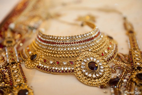 Bridal Jewelry in Calabasas, CA Indian Wedding by Photo Jade
