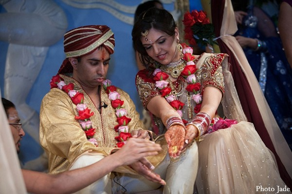 Ceremony in Calabasas, CA Indian Wedding by Photo Jade