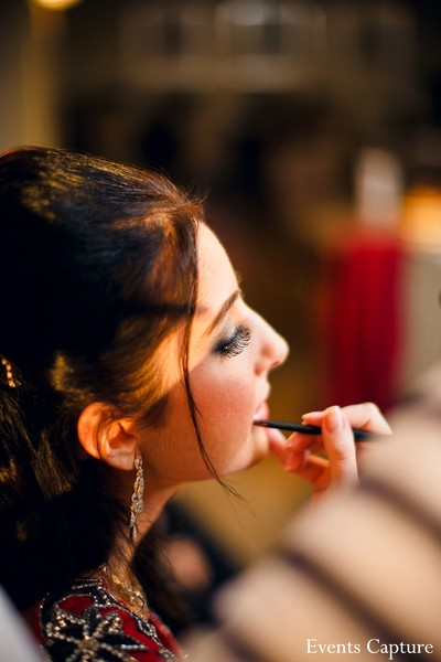 Getting Ready in Hauppauge, NY Indian Wedding by Events Capture