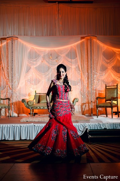 Bridal Fashions in Hauppauge, NY Indian Wedding by Events Capture