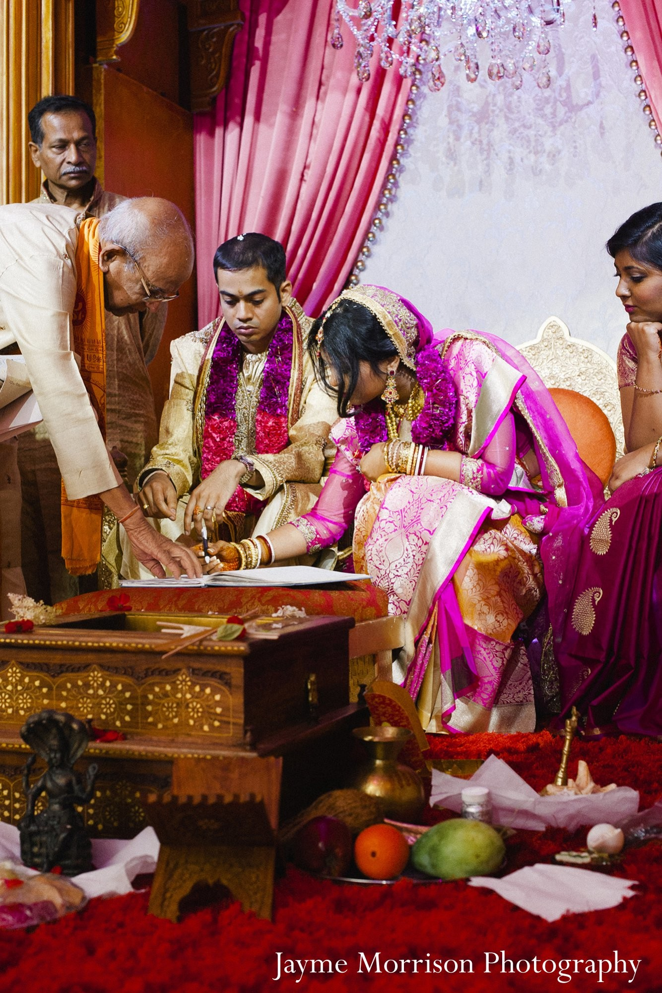 Ceremony in Toronto Canada Indian Wedding by
