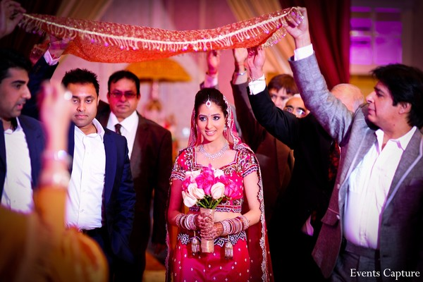 Ceremony in Hauppauge, NY Indian Wedding by Events Capture