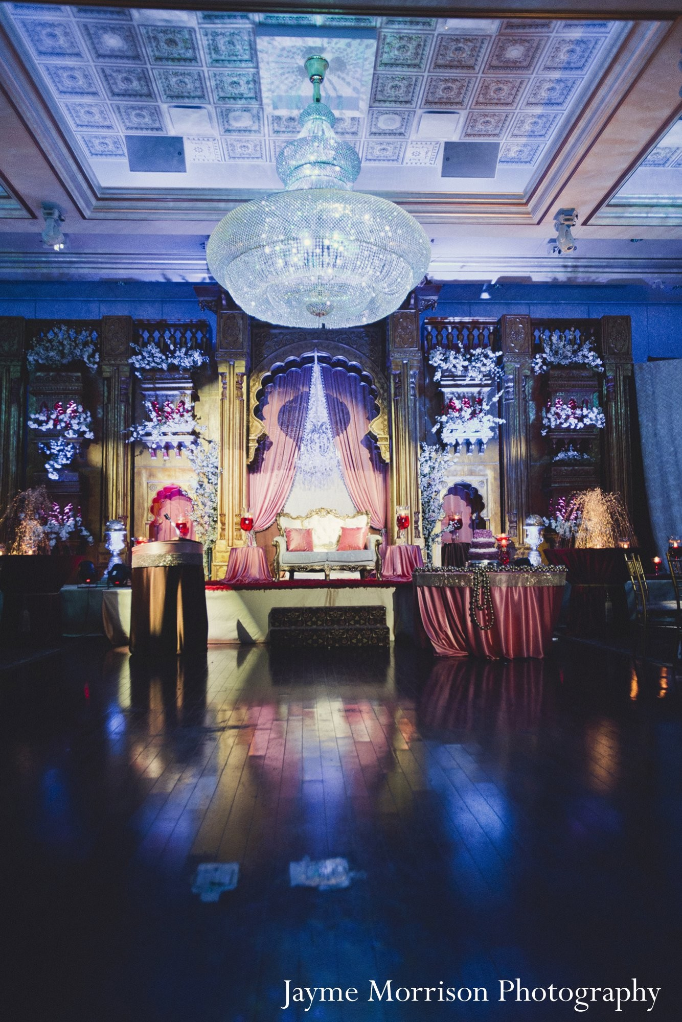 Reception in toronto canada indian wedding by jayme for Indian jewelry in schaumburg il