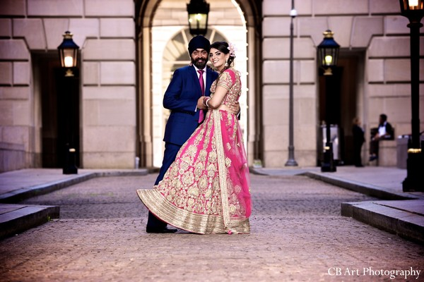 Portraits in Washington, DC Indian Wedding by CB Art Photography