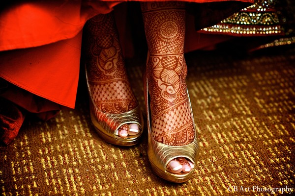 Getting Ready in Washington, DC Indian Wedding by CB Art Photography