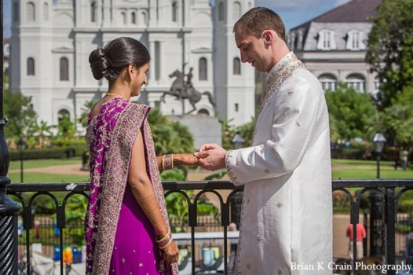 Portraits in New Orleans, LA Indian Fusion Wedding by Brian K Crain Photography