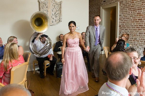 Reception in New Orleans, LA Indian Fusion Wedding by Brian K Crain Photography