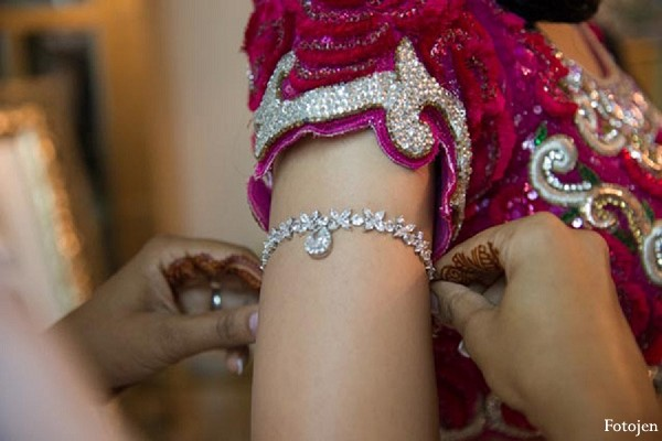 Bridal Jewelry in Ballitoville, South Africa Indian Wedding by Fotojen