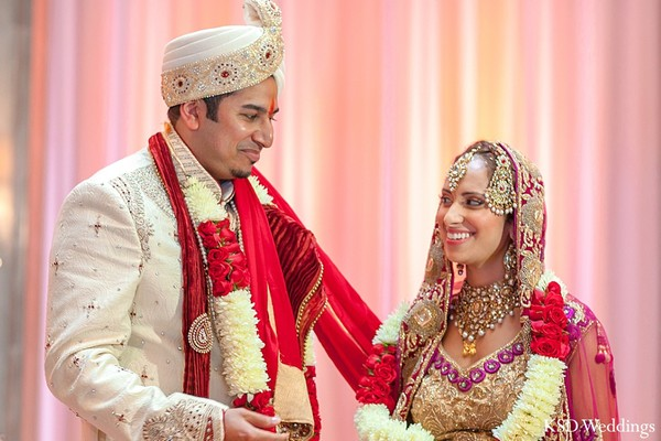 Ceremony in Long Island, NY Indian Wedding by KSD Weddings