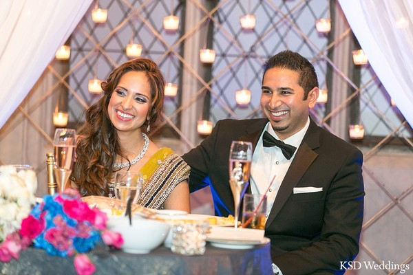 Reception in Long Island, NY Indian Wedding by KSD Weddings