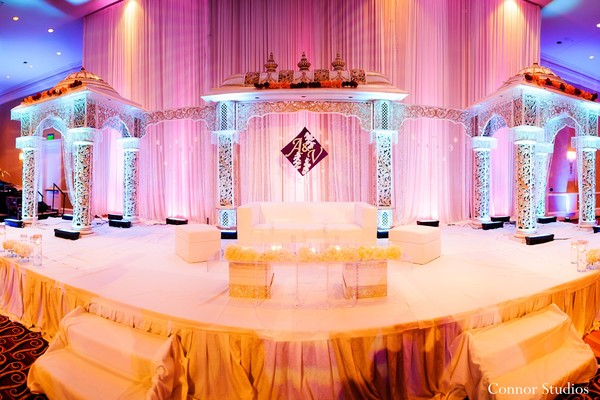 Reception in Baltimore, MD Indian Wedding by Connor Studios
