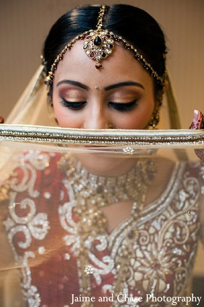 Getting Ready in Tulsa, OK Indian Wedding by Jaime and Chase Photography