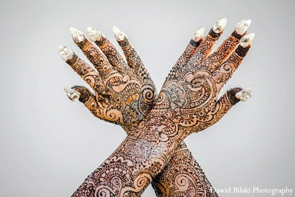 Mehndi Artists in Fremont, CA Indian Wedding by Dawid Bilski Photography