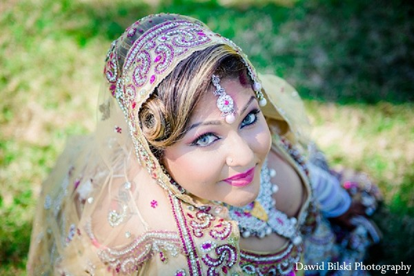Hair & Makeup in Fremont, CA Indian Wedding by Dawid Bilski Photography