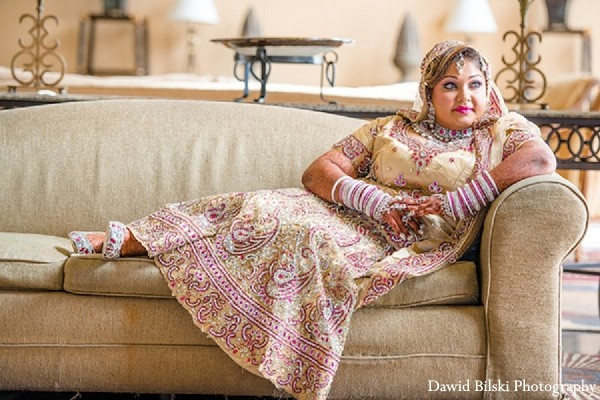 Bridal Fashions in Fremont, CA Indian Wedding by Dawid Bilski Photography