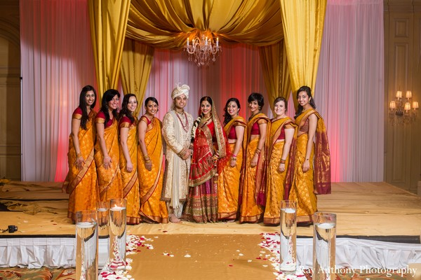 bridal party,bridesmaids,bridemaids outfit,indian bridesmaids,indian bridal party,indian bride,indian groom,indian groomsmen,bridesmaid sari,bridesmaids sari,bridesmaids saree,bridesmaid saree,indian bride and groom,indian bride groom,photos of brides and grooms,images of brides and grooms,indian bride grooms,Indian brides