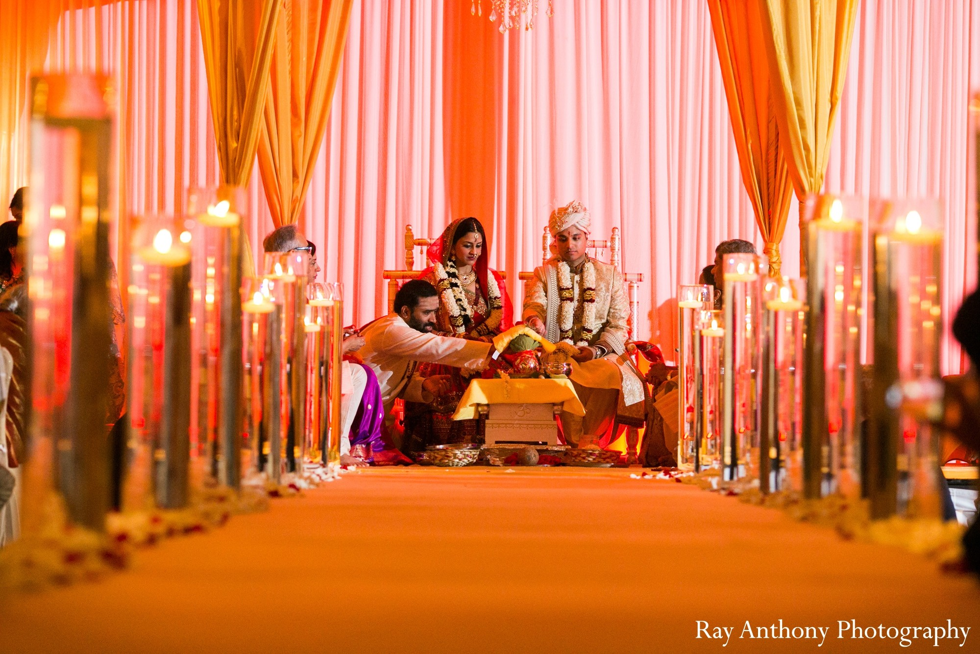 Ceremony in dearborn mi indian wedding by ray anthony for Indian jewelry in schaumburg il