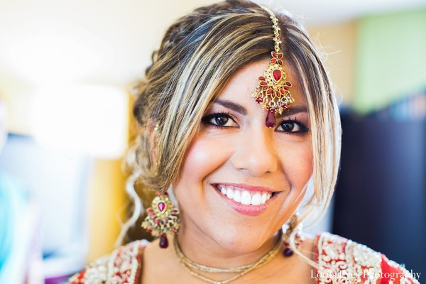 Getting ready in Miami, FL Indian Fusion Wedding by Lotus Eyes Photography