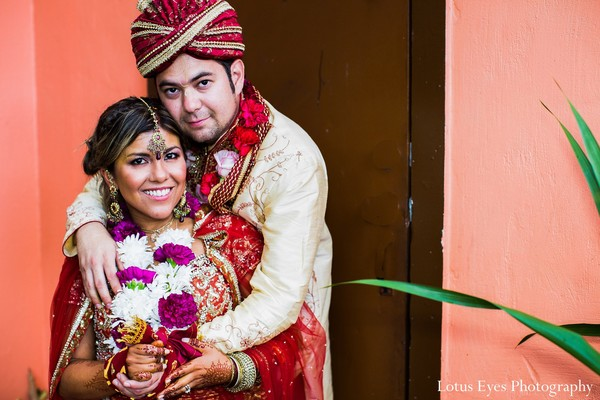 Portraits in Miami, FL Indian Fusion Wedding by Lotus Eyes Photography