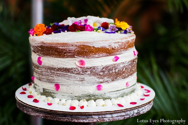 Cakes and treats in Miami, FL Indian Fusion Wedding by Lotus Eyes Photography