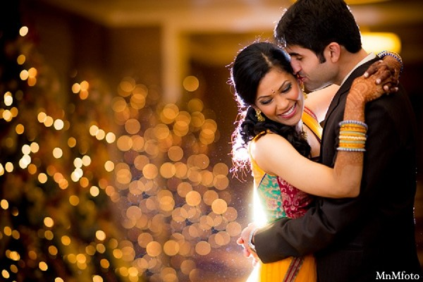 Portraits in Houston, TX Indian Wedding by MnMfoto