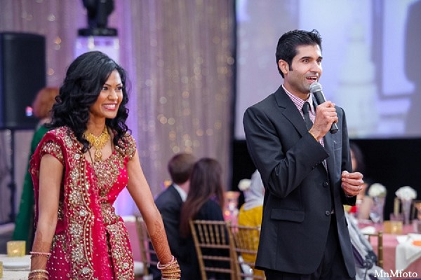 Reception in Houston, TX Indian Wedding by MnMfoto