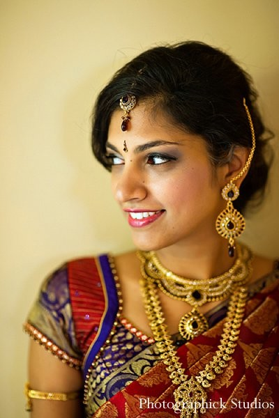 Portraits in Chantilly, VA Indian Wedding by Photographick Studios