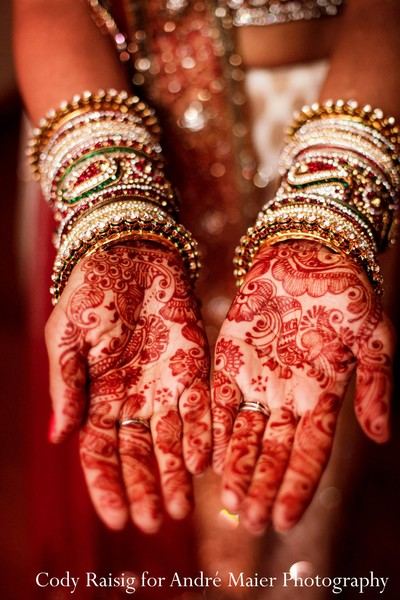 Mehndi in New York, NY Indian Fusion Wedding by André Maier Photography