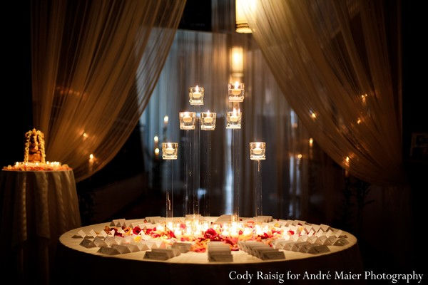 Reception in New York, NY Indian Fusion Wedding by André Maier Photography