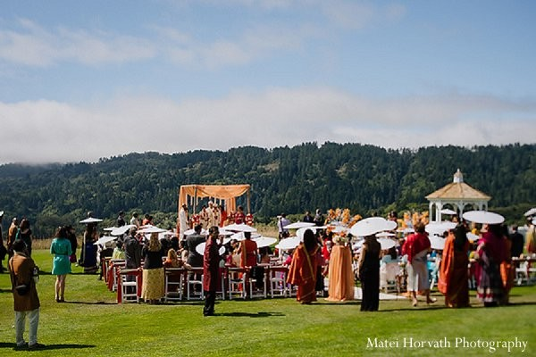 Ceremony in San Francisco, CA Indian Wedding by Matei Horvath Photography